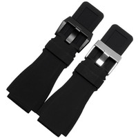 bells needle - New High Quality For Bell For Ross x mm HR Rubber Watch Strap Band With Clasp Buckle For BR01 BR03