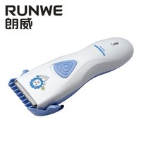 Wholesale Runwe Rs9105 electric clippers professional adult children electric clippers mute baby charging fader razor