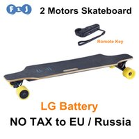 Wholesale Hot Sale motors Electric Skateboard with LG battery romote control wheels skate board with UPS