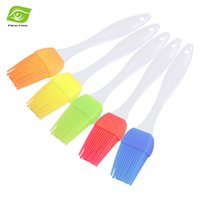 Wholesale 5pcs BBQ Butter Silicone Basting Brush Heat Resistant Oil Brush Silicone Baking Brush