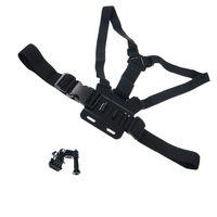 Wholesale Adjustable Camera Chest Strap Elastic Belt Mount Body Strap Base for GoPro HD Hero Camera