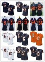 bearing sleeves size - 2016 hot sale women jerseys Chicago cheap Bears Matt Forte Jay Cutler Kevin White rugby t shirts women Size S XL