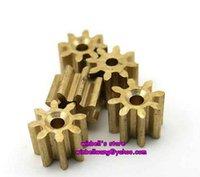 Wholesale 10PCS modulus teeth copper gear bore diameter mm new factory outlet