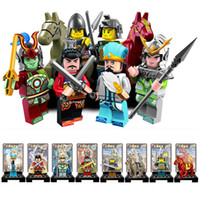 ancient chinese toys - Romance of Three Kingdoms Minifigure Chinese Ancient Solider Super Herors Model Building Block Toys Enlighten B