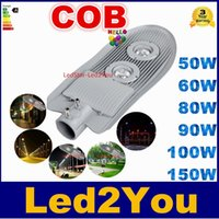 Lampe haute puissance 50W 60W 80W 90W 100W 150W LED Light Street Light Outdoor route AC85-265V cool lampe chaud / blanc Euqal 1200W halogène