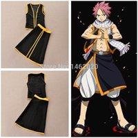 game dora - Fairy Tail mage Naz Dora Gonul COS clothing Suit Sorcerer Natsu Dragnee Unisex Cosplay Costume amp Props emboitement top skirt