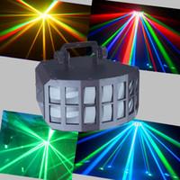 Wholesale The new LED high power lamp lighting butterfly Radium shoots the light bar KTV karaoke laser room light