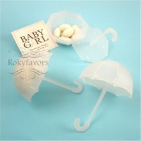 baby shower supplies - Umbrella Candy Boxes Favors Holder Baby Shower Birthday Party Supplies Bridal Shower Souvenir Giveaways