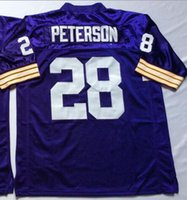 adrian peterson jersey authentic - Adrian Peterson Jersey Throwback Football Jersey Best quality Authentic Jersey Size M L XL XXL XXXL Accept Mix Order