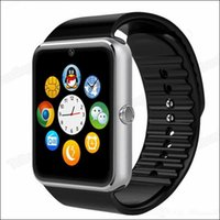 Wholesale GT08 Smart Watch Bluetooth Compatible Platform IOS Android With Pedometer Camera Monitoring Sleep Sedentary Reminder For iPhone Samsung MQ30