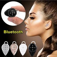Wholesale Super Small Bluetooth Headset - Mini A9 Bluetooth Headset Headphones In-Ear Earphone Super Small Wireless Earphone Headphone Multi-point Music For iPhone 7 6 5 Samsung HTC