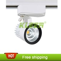 Wholesale 15W COB LED Ceiling Track Rail Light Spotlight Lamp Display Cabinet AC V Warm Cool White Shop Tracking Ceiling Fixture