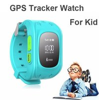 Wholesale HQ Anti Lost GPS Tracker Watch For Kids SOS Emergency GSM Smart Mobile Phone App For IOS Android Smartwatch Wristband Alar
