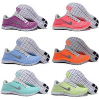athletic rubber flooring - 2016 New Free Run V4 Women Running Shoes Lady Athletic Trainers Weightlight Sport Shoes Eur
