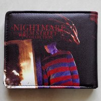 american elm - a Nightmare on Elm Street Freddy Krueger Logo wallets