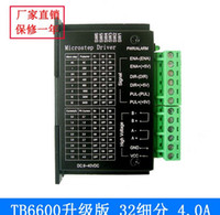 Wholesale 4A TB6600 Stepper Motor Driver Controller V TTL Micro Step CNC Axis NEW suite for stepping motor