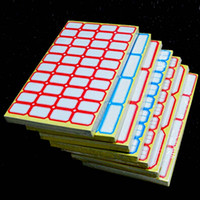Wholesale Convenient Red Blue Color Price Sticker Adhesive Paper Self adhesive Label Price Tag Price Label Sticky