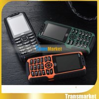 battery bluetooth speakers - X6 XP3300 Rugged Phone With Strong Flashlight Shockproof Dual SIM GSM Mah Battery Loud Speaker Power Bank Phone bankpower hot sale