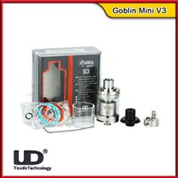 advanced control systems - 100 Original UD Youde Goblin Mini V3 RTA Atomizer ml Top Filling Tank Bottom Airflow Control With Dual Post Design Advance Airflow System