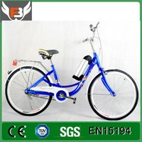Wholesale China Steel Frame V W Cheap Electric Bicycle