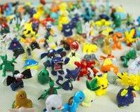 Wholesale 144 Styles Poke Pocket Cartoon Pikachu CM Action Figures Doll Poke For Chirdren Halloween Chirdren s Christmas gifts Kid Toys