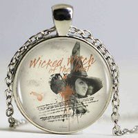 american west jewelry - Wicked Witch Of The West Pendant Necklace Sexy Witch Picture Silver Shape Vintage Necklace Women s Jewelry Gift