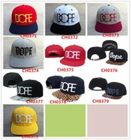 Wholesale New Brand DOPE Snapback men s women s baseball Caps basketball footbal Cheap Fashion Hip Hop hats top quality with