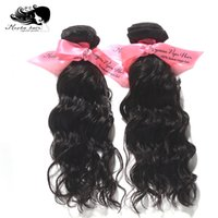 Wholesale Mix New arrival Malaysian Hair Weave Water Wave inch Natural Color Can Be Dyed