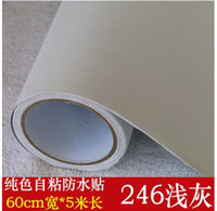 asia bag - The surface of pure color sticky wallpaper wallpaper from furniture refurbished sticker waterproof bag mail