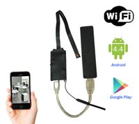 Wholesale Wirelees Wifi Spy Camera Module With mAh Rechargable Battery DIY IP Camera Support Smartphones Remote Control Record Audio Video