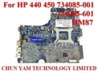 Wholesale Original Laptop motherboard for HP Probook HM87 Notebook PC Mainboard tested Days Warranty
