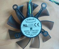 Wholesale EVERFLOW R128015SU Cooling Fan with V A Wires Hole