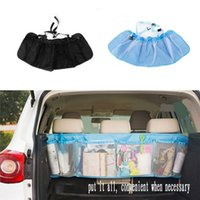 Verizon Car Trunk Organizer Seat Cover Jouets DVD Stockage Sacs Container Automobiles Poche Auto Styling Accessoires