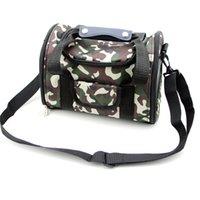 Wholesale New Arrival Pet Carrier Nylon Breathable Dog Bag Puppy Handbag Folding Tote Cat Carrying Shoulder Messenger Bag HB0036