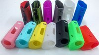 Wholesale DHL Free RX200S Silicone Cases Colorful RX200 Silicone Case Skin Cover Bag Rubber Sleeve Protective Covers Skin For Reuleaux Box Mod