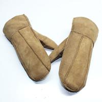 Wholesale Mittens outdoor gloves Men s Real Sheepskin glove warm winter men genuine Sheepskin Cycling gloves Mixed