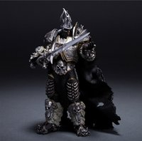 Wholesale Hot WOW Gift Arthas Fall of The Lich King Arthas Menethil quot Figure Toys DOLL