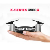Wholesale MJX X906T X XERIEX G FPV With HD Camera Built In Inches LCD Screen D Flips Wind Resistance RC Quadcopter Mode RTF