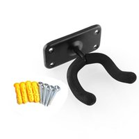 bass fit - Guitar Hanger Stand Wall Mount Hook Holder Fit For Bass Ukulele And More Musical Instruments