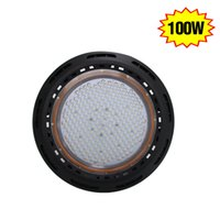 Wholesale 100W LED High Bay UFO Light Lm replace W HPS Retrofit Parking Gas Station lights Industrial Factory Lighting