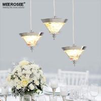 abs suspension - 2016 New Lighting Modern LED Acrylic chandelier for Living room Hotel Restaurant LED lamparas lustre hanging suspension lamp
