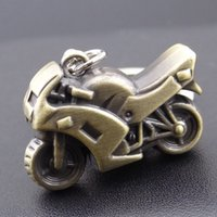 antique motor cars - 2016 HOT Motorcycle Key Ring Chain Motor Retro Keychain New Fashion Cute Lover Gift Racing Gift