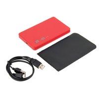Wholesale 1 New USB Mbps Enclosure Case Box for Laptop quot SATA Hard Drive Promotion Eletronic Hot