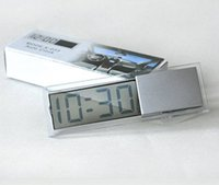 antique electronic supply - 1 Auto products transparent suction cup lcd digital clock car electronic Timer auto supplies