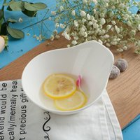 Wholesale Ceramic bowl large bowl soup bowl Fresh Fruit Salad household tableware bowl bowl creative brief