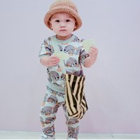 baby pullover pattern - girls boutique outfits sweater pants suit leggings pullover set boys clothes Sets Kids Fall Clothing suits baby sloth animal pattern
