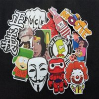 Wholesale Car styling Home decor jdm car sticker on auto laptop sticker decal motorcycle fridge skateboard doodle stickers car styling