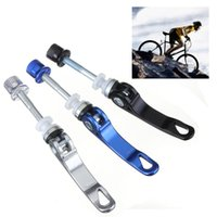 best seat clamp - Best Promotion New Aluminium Alloy Bicycle Bike Cycle Quick Release Seat Post Binder Bolt Clamp Skewer Bolt
