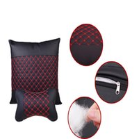 Wholesale Red wine series auto supplies automotive cushion for leaning on of waist pillow pillow for waist by car