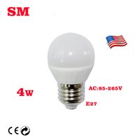 Wholesale E26 E27 W High lumens LED Globe Bulbs SMD Warm White Cool White AC V